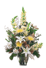 For your office in Saratoga, flowers & arrangements by Meme's Florist!
